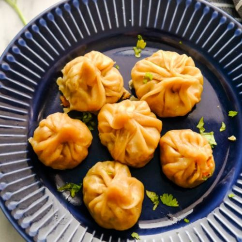 Vegetarian Momos Recipe