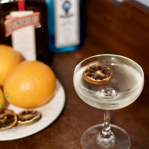 The Orange Gin Martini
