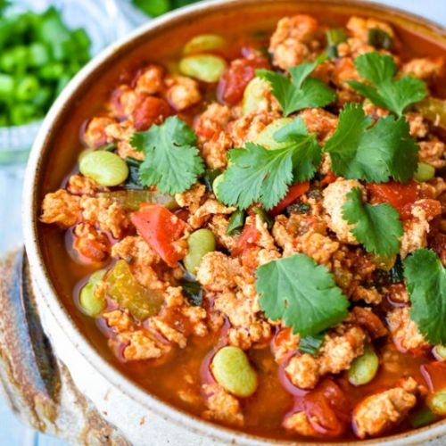 Instant Pot Buffalo Chicken Chili