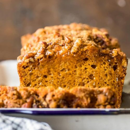 Oatmeal Pumpkin Bread!