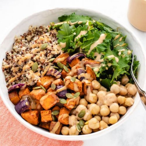 Roasted Sweet Potato Bowl