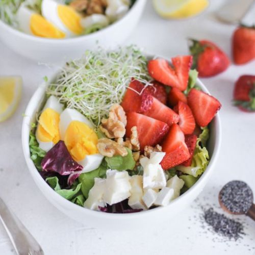 Lemon Poppyseed Summer Salad