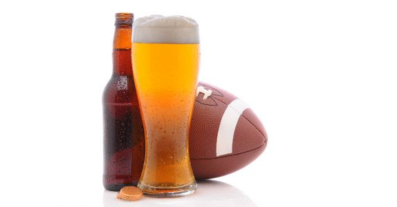 Here's Why You Never See NFL Players in Beer Ads