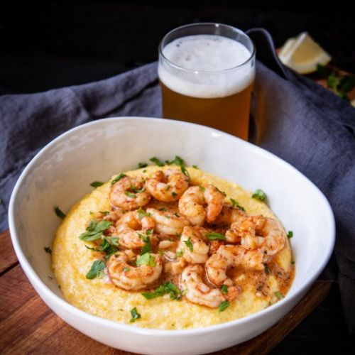 Southern Style Barbecue Beer Shrimp