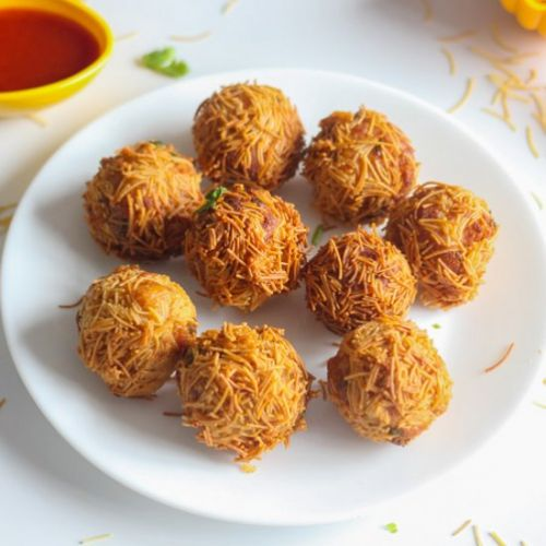 How To Make Paneer Vermicelli Balls