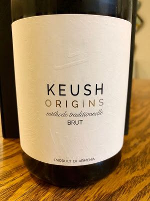NV Keush Origins Brut: Armenian Bubbly
