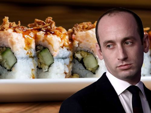 Stephen Miller Threw $80 of Sushi in the Garbage After Getting Heckled