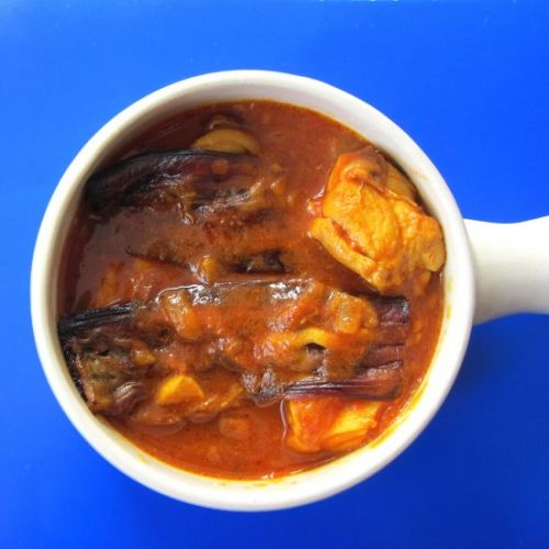 Chicken and Eggplant Stew
