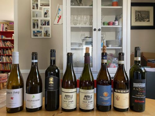 At home highlight wines 2020: California, French, Italian