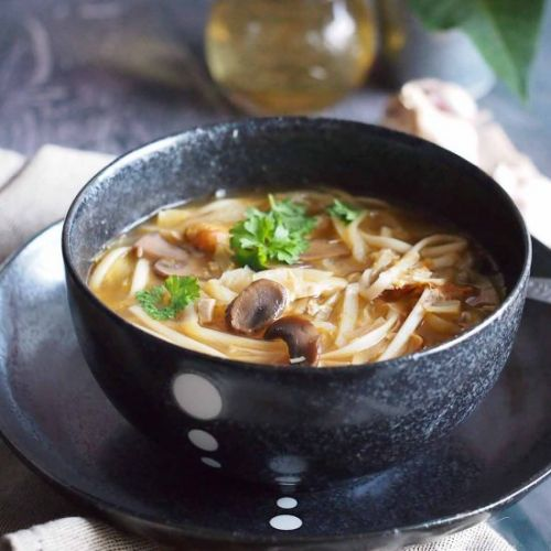 Asian style cabbage soup