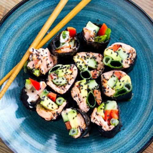 Paleo Sushi Rolls With Nori Sheets