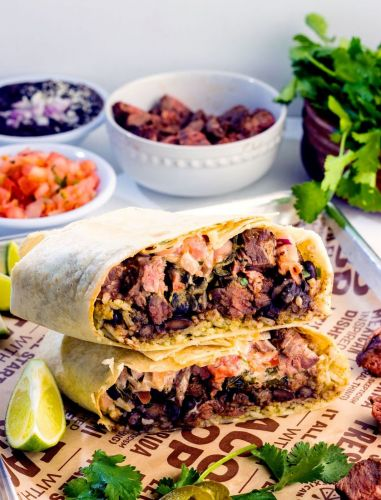 LIME Fresh Rolls Out Their Newest Burrito. and the Steaks are High
