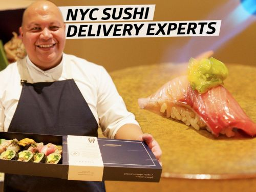 How an NYC Sushi Chef Prepares 300 Takeout Omakases