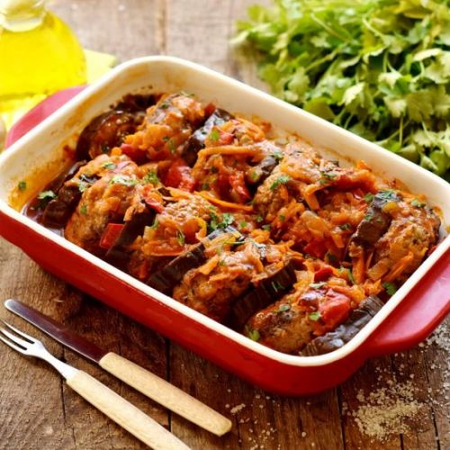 Eggplant Meat Cutlets