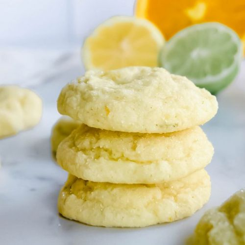Triple Citrus Sugar Cookies