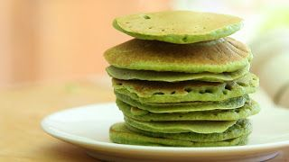 420 Green Butter Pancakes