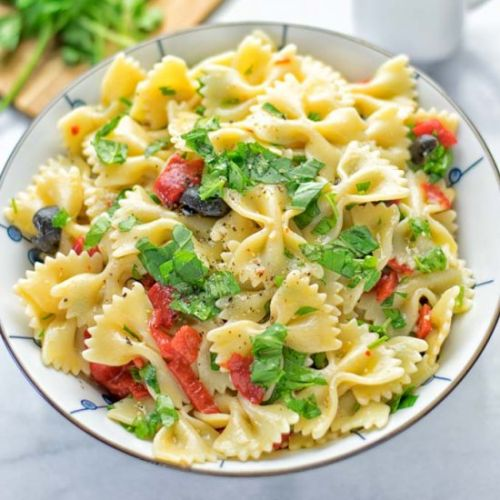 Lemon Herb Tuscan Psata Salad