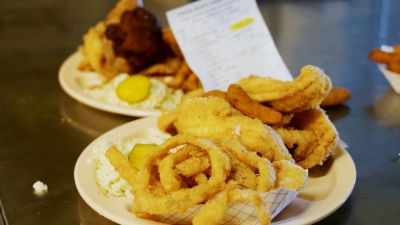 Watch: Fried Catfish and Hushpuppies Reign Supreme at Carolina Fish Camps