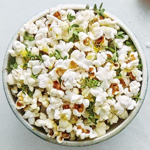 Popcorn with Lemon Butter