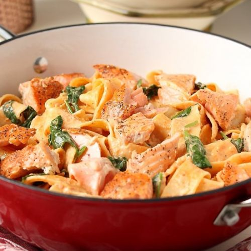 SALMON PAPPARDELLE