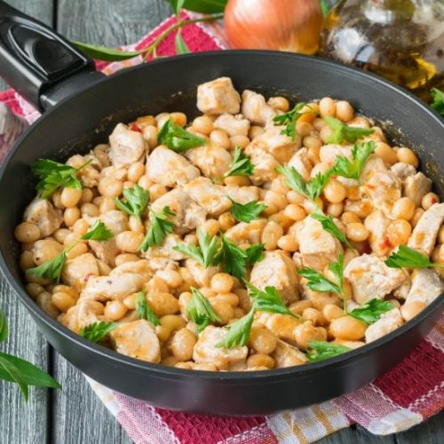 Chicken Chili with Beans