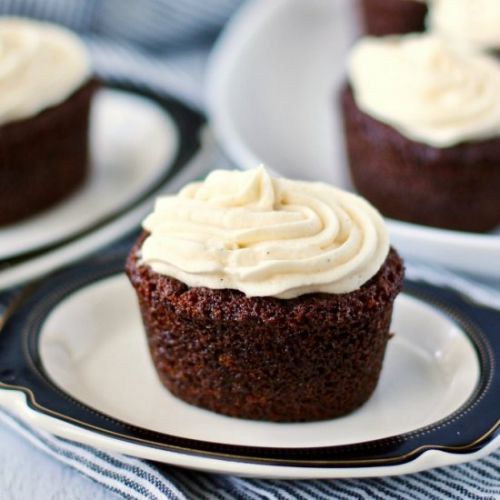 Double Ginger & Grapefruit Cakes