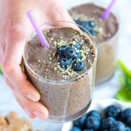 Power Blueberry Smoothie