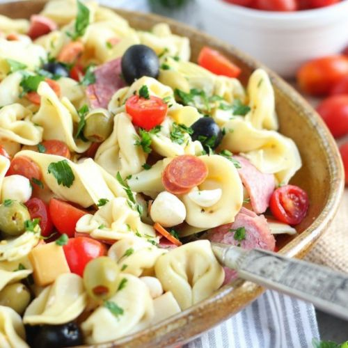 Simple Antipasto Pasta Salad