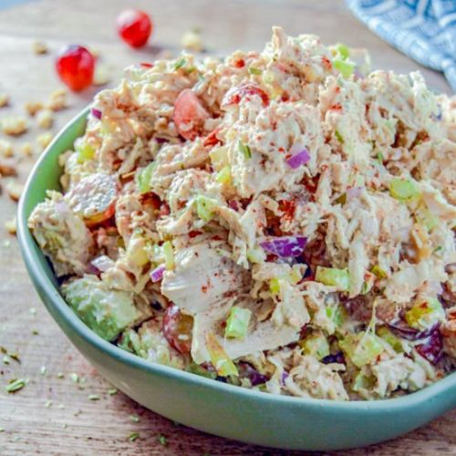 Chicken Walnut and Grape Salad