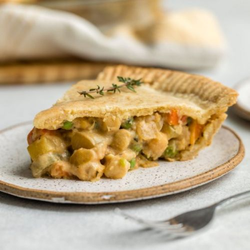Vegan Chickpea Pot Pie