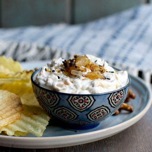 Everything Bagel Onion Dip
