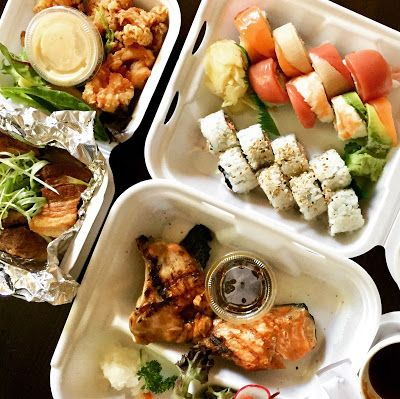 Take-Out Review: Sushi Noguchi - Yorba Linda