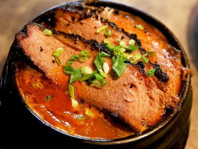 Watch: Brisket-Topped Kimchi Stew Is the Pinnacle of Korean-American Food