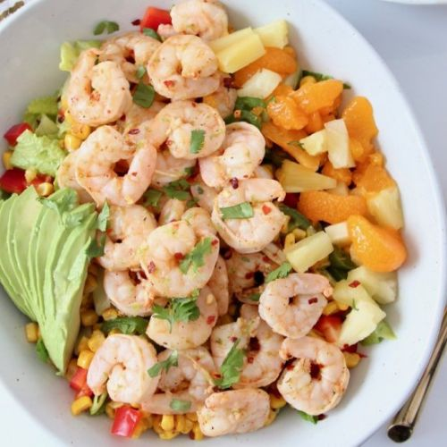 Jerk Shrimp Salad