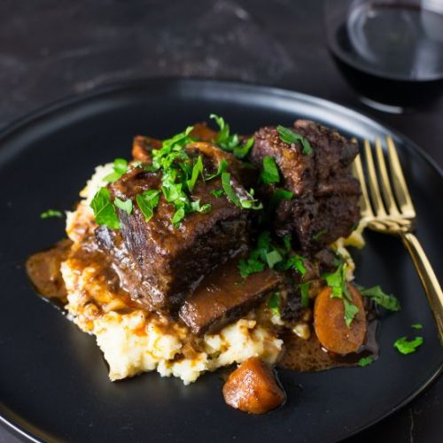 Wine Braised Short Ribs