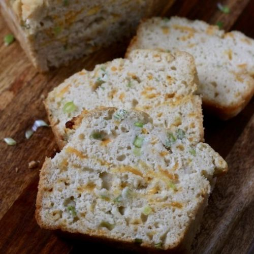Cheddar and Onion Beer Bread