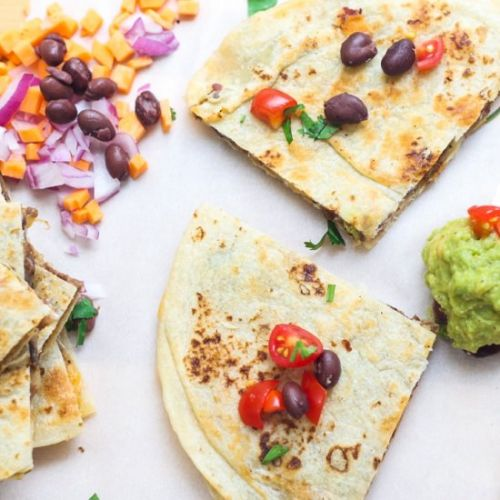 Freezer-Friendly Quesadillas