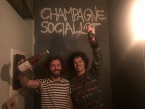 Champagne Socialist: if you visit Milan, go there! It's my new favorite wine bar in Italy