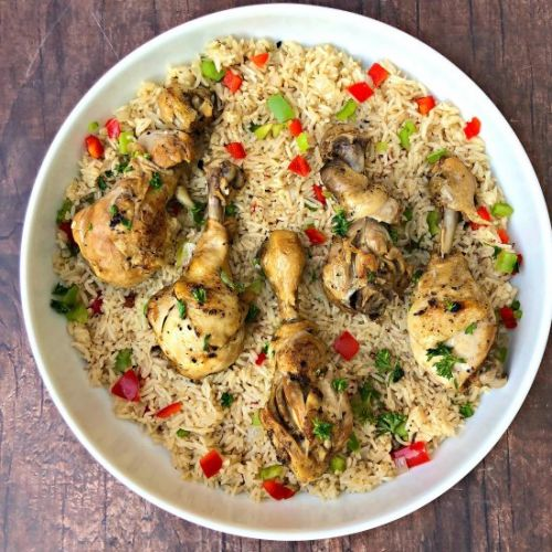 Instant Pot Arroz Con Pollo
