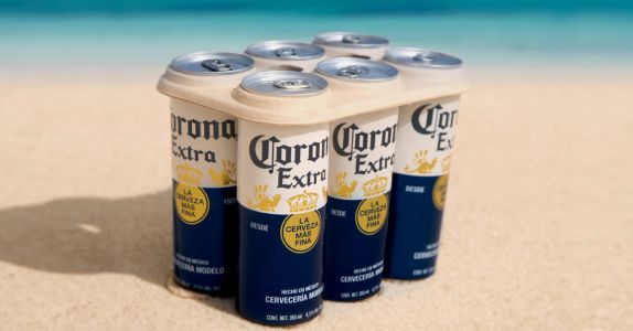 Corona to Trial Eco-Friendly, Plastic-Free Six-Pack Rings