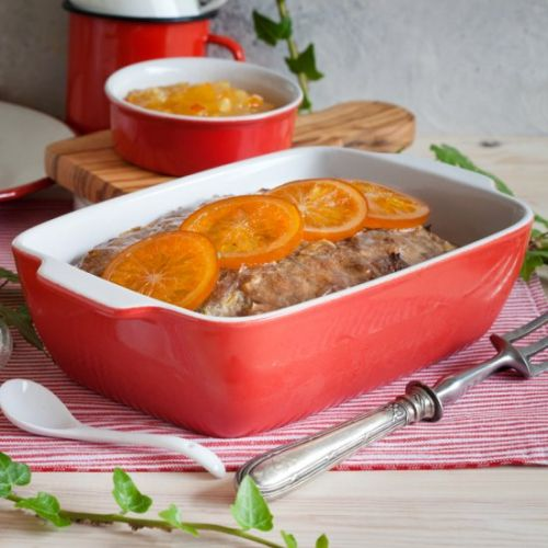 DUCK MAGRET WITH CANDIED ORANGE