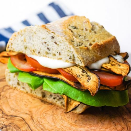 Vegan BLT with Aquafaba Mayonnaise