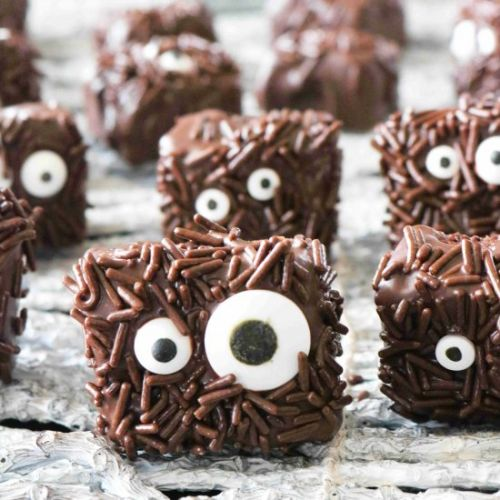 Halloween Brownie Decorating Ideas