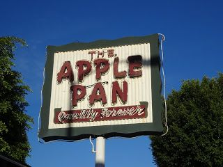 Stepping Back into the 40's at the Apple Pan