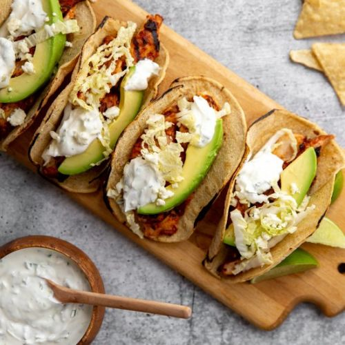 Ultimate Chipotle Chicken Tacos