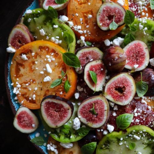 Heirloom Tomato & Fig Salad