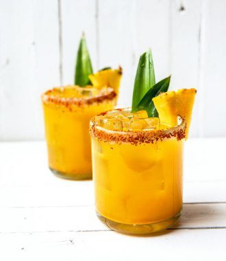 Pineapple-Turmeric Margarita
