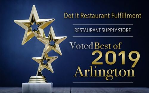 Dot It Restaurant Fulfillment Receives 2019 Best of Arlington Award