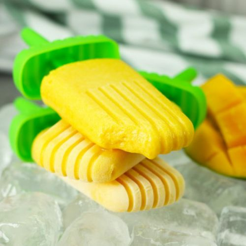Dairy Free Mango Coconut Popsicles
