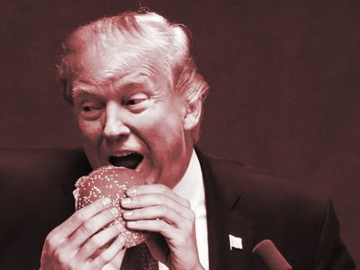 Everything Donald Trump Ate in 2017